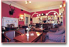 the bar, morangie house hotel, scotland