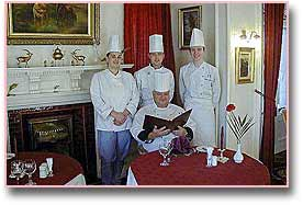 the chefs, morangie house hotel, scotland