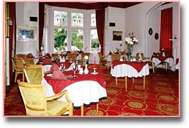 the dining room, morangie hotel, scotland